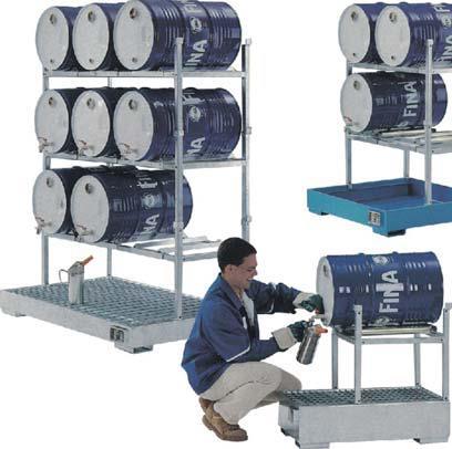 油桶储运架