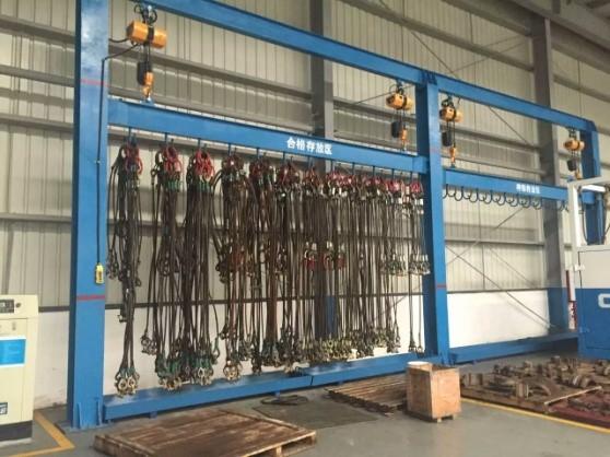 钢丝绳存放架