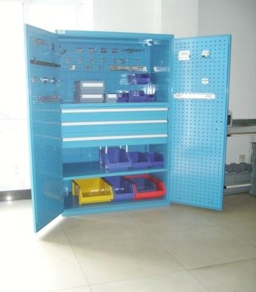 挂板式置物柜