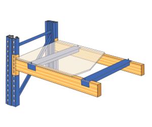 木夹板及支撑杆