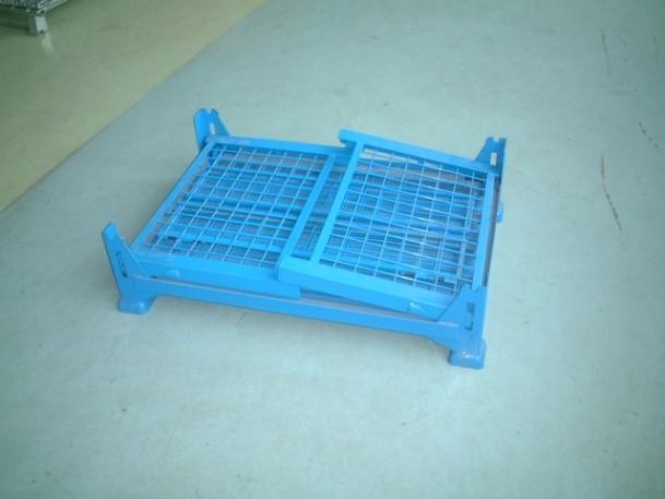 可折叠式网箱堆垛箱
