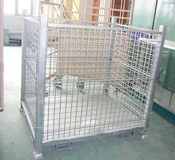 折叠式仓库笼
