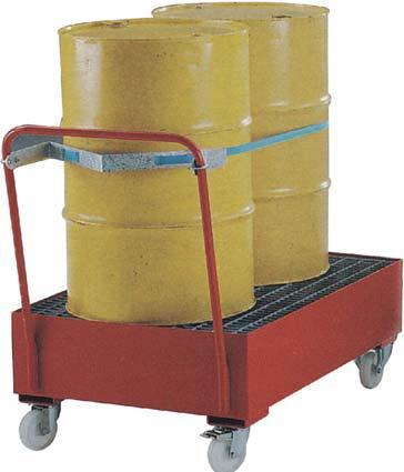 油桶存储车