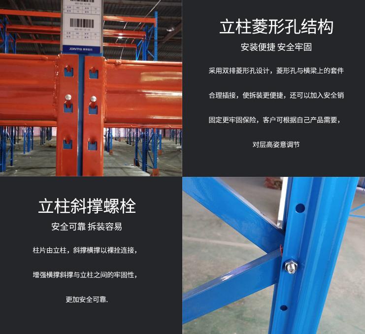 重型横梁货架_百安福工业
