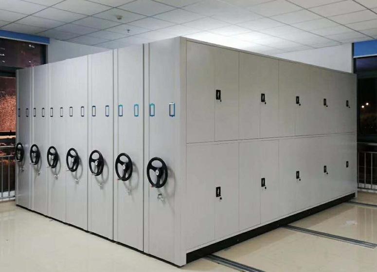 某技工学校档案室密集架定制案例