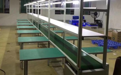 浅析生产线装配台的设计定做要注意哪些要点