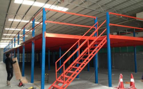 重型阁楼货架是钢结构平台