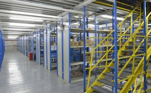 大型阁楼式货架设备的优势与使用方法