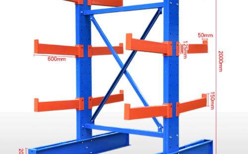 伸缩式悬臂货架所用的钢材有什么标准吗?