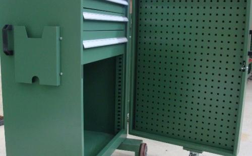 移动壁橱式工具车的实用新优点