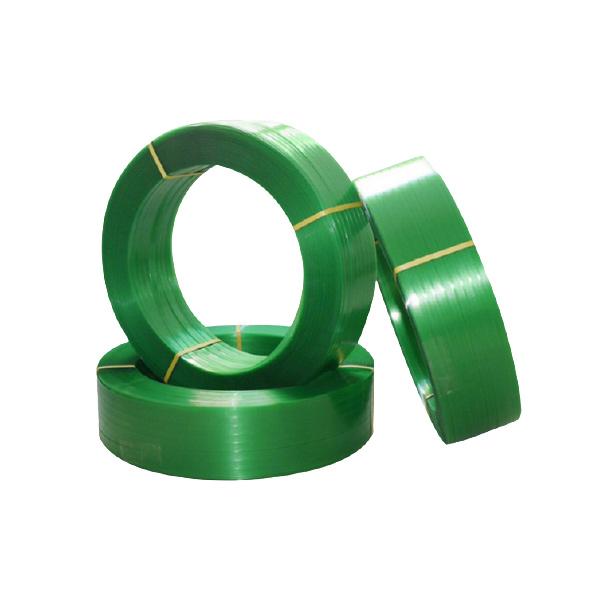 PET塑钢扎带环保绿色pet打包带手工机用打包带